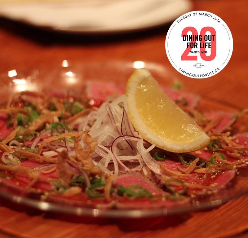 Hapa Izakaya Vancouver: Dining Out For Life